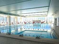 日本水泳連盟公認のプール!しっかり泳げます。